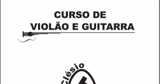 Cover - Curso de Violão e Guitarra - Prof. Clésio Tapety