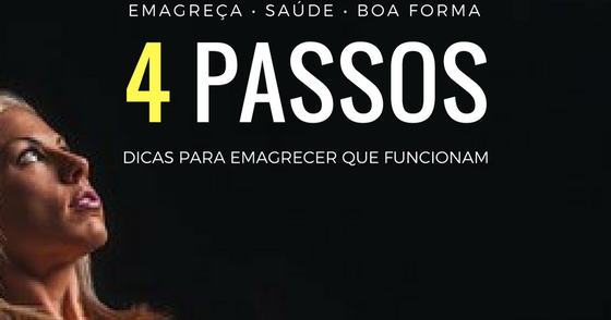 Cover - E-BOOK GRÁTIS 4 PASSOS PARA EMAGRECER CERTO