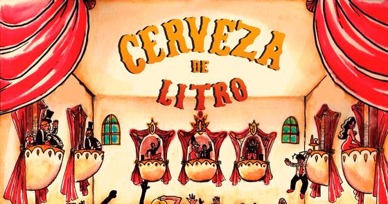Cover - Cerveza de Litro - Valmir (CD completo)
