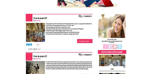 Cover - Template Nuances Blogger