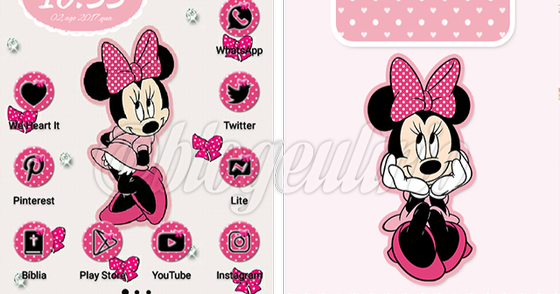 Cover - Tema Minnie Pink