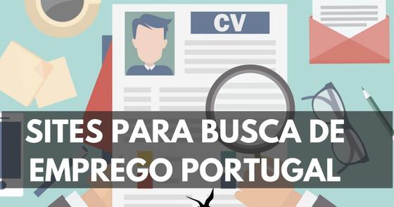 Cover - SITES DE BUSCA DE EMPREGOS EM PORTUGAL