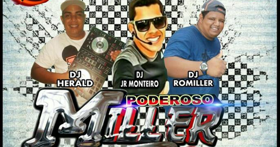 Cover - CD AO VIVO MILLER SOM DJ JUNIOR MONTEIRO 2017
