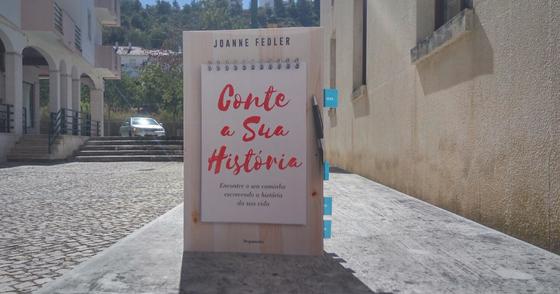 """Cover - """"Conte a sua História"""""""