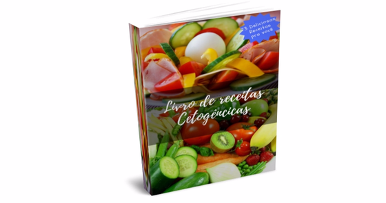 Cover - Ebook com 3 deliciosas receitas que fazem parte do kit dieta CETO