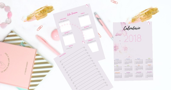 Cover - Planner 2018 do blog Charme-se