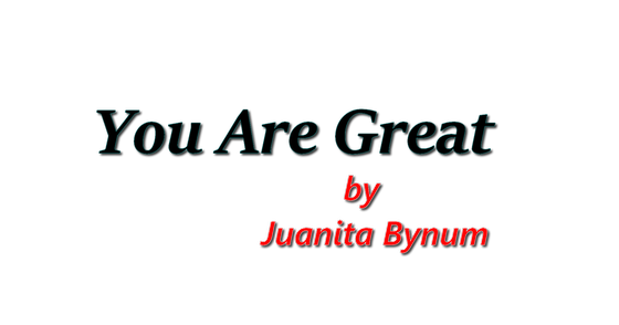 Cover - You Are Great