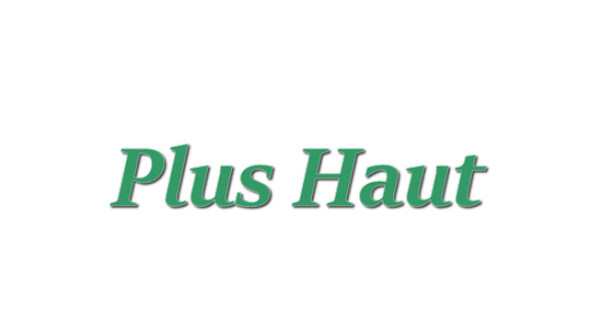 Cover - Plus Haut