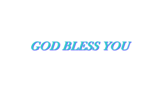 Cover - God Bless You