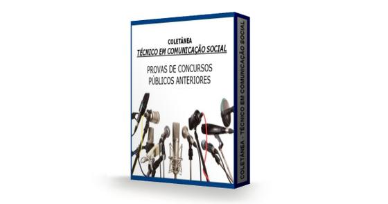 Cover - Pacote Gratuito- Provas de TÉCNICO EM COMUNICAÇÃO SOCIAL