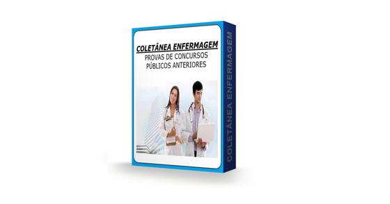 Cover - Pacote Gratuito- Provas de ENFERMAGEM