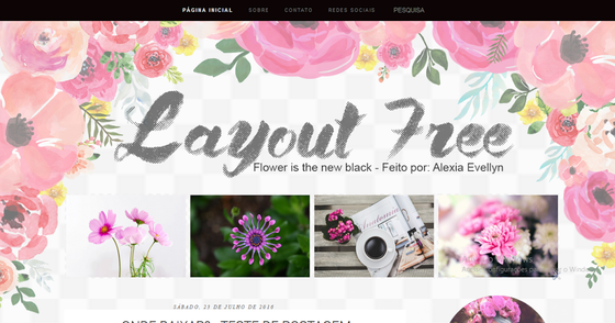 Cover - Layout Free - Flower is the new black