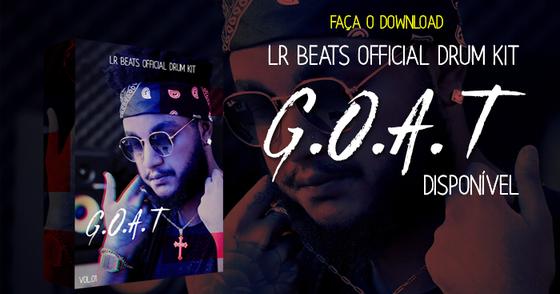 Cover - LR Beats Official Drum Kit - G.O.A.T (Vol.01)