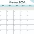 Thumb - Freebie: Planner BEDA para blogs!