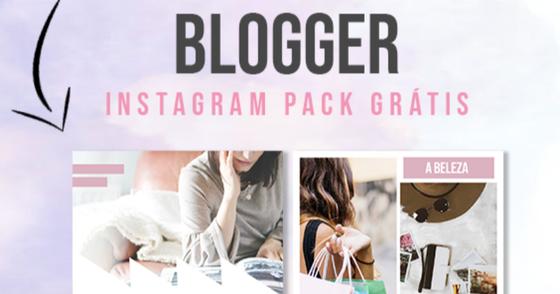 Cover - Pack Social Media para Bloggers: Download Grátis